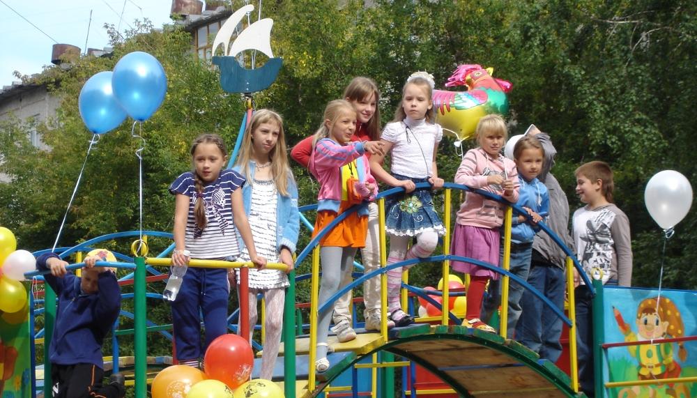 Площадка для детей 4 лет
